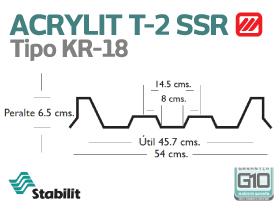 Lámina Acrílica T-2 Acrylit Geometría