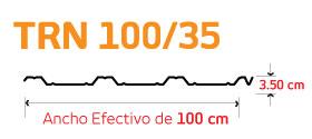 TRN-100/35 Geometría