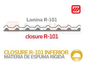 Closure Inferior para R 101