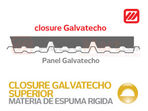 Closure Superior Galvatecho