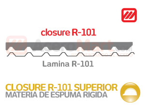 Closure Superior para R 101